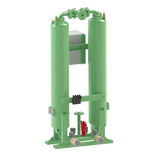 Heatless Regeneration Compressed Air Dryer